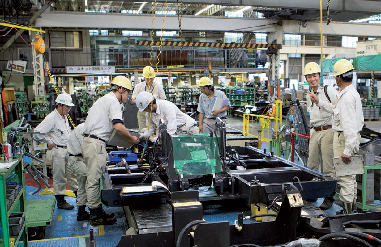 Заводы Hitachi