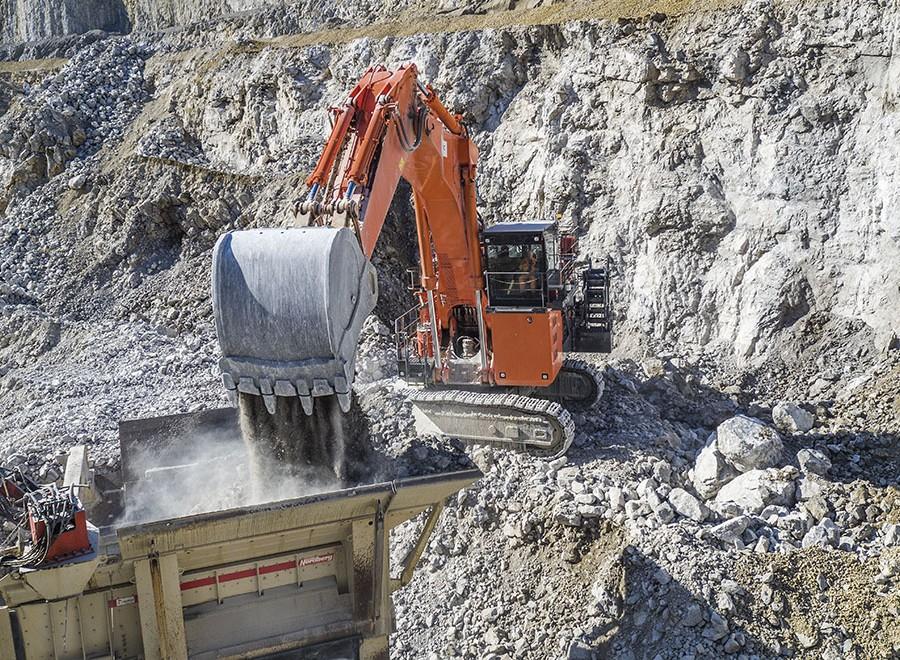 Hitachi GET для горных экскаваторов