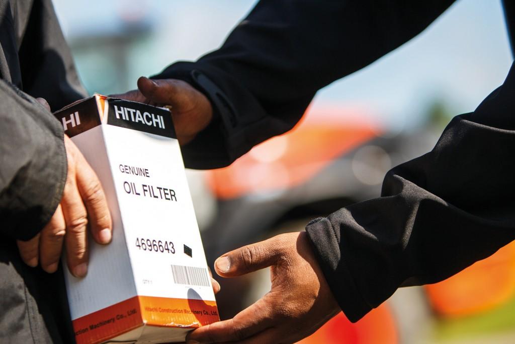 Оригинальные запчасти Hitachi