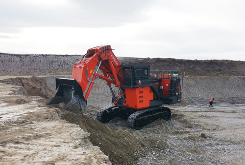 Горный экскаватор Hitachi EX2600E-6