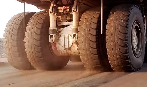 Больший колесный двигатель